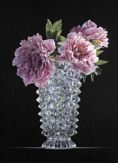 Ottorino De Lucchi - A inizio maggio - tecnica drybrush su tavola - cm 50 x 40 - anno 2018