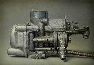 Gioacchino Passini - Silver - acrilico su tela - cm70x100 - anno 2012