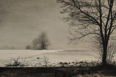 Ernesto Angelo Ubertiello -Bianco e nero - matita e china su tavola - cm40x60 - anno 2015
