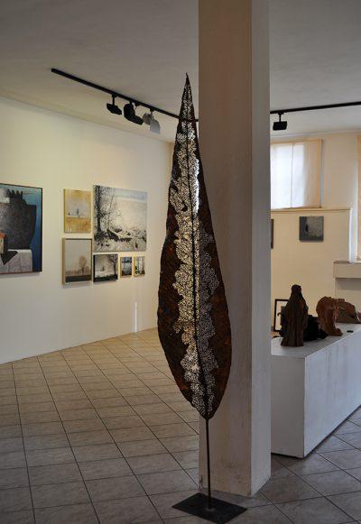 Nicola Zamboni - Foglia - rame - cm250x45 - anno2013