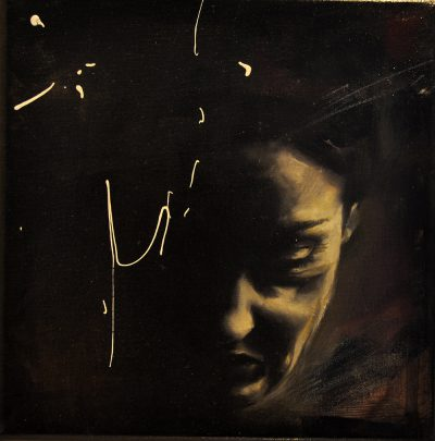 Alessandro Guidotti - Senza titolo - olio su tela - cm20x20 - anno 2014