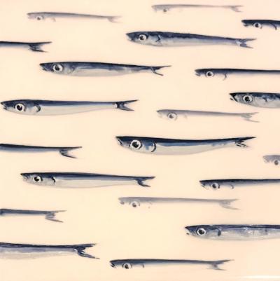 Lorenzo Lazzari - Format - tecnica mista su tela - cm 30x30 - anno 2018