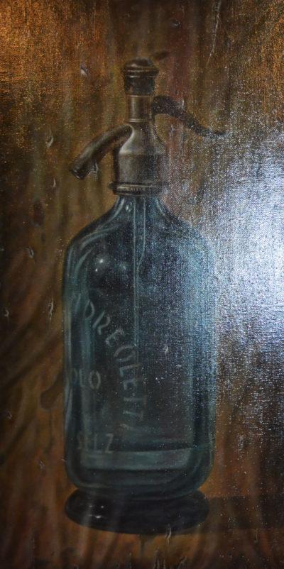 Gioachino Passini - Selz - olio su tela cm 100X50